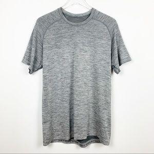 lululemon | Metal Vent Tech Short Sleeve Grey